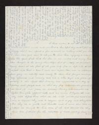 Letter from Lydia Pomeroy to Jerusha Pomeroy (mother),1843 March 30
