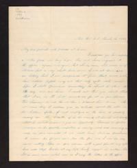 Letter from Lydia Baldwin Phelps to Ezekiel Baldwin,1844 March 13