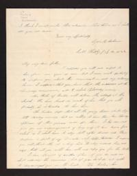 Letter from Lydia Baldwin Phelps to Ezekiel Baldwin,1844 July 16