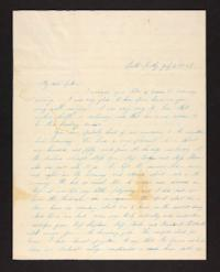 Letter from Lydia Baldwin Phelps to Ezekiel Baldwin, 1845 July 02