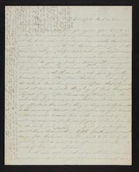 Letter from Electa Wing to Mary Lyon, 1842 March 19