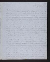 Letter from Electa Wing to Mary Lyon, 1847 May 31