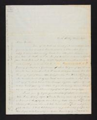 Letter from Lucy Barlow to Henry Barlow, 1844 December 10