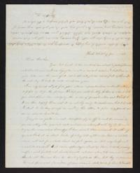 Letter from Lucy Barlow to Henry Barlow, 1845 January 08