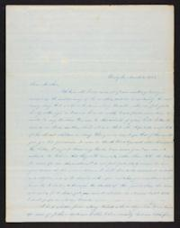 Letter from Lucy Barlow to Henry Barlow, 1845 March 12