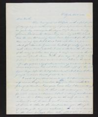 Letter from Lucy Barlow to Henry Barlow, 1845 October 03