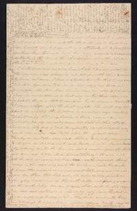 Letter from Abigail Cowles Grant to Martha Grant, circa 1844 October 28