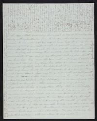 Letter from Abigail Cowles Grant to Martha Grant, circa 1846 March 21