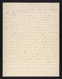 Letter from Abigail Cowles Grant to Martha Grant, circa 1846 July 22