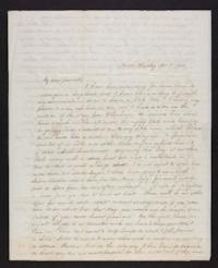 Letter from Jane Scudder to Charles Scudder (father), 1844 October 17