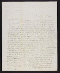 Letter from Jane Scudder to Charles Scudder (father), 1844 November 03