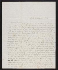Letter from Jane Scudder to Charles Scudder (father),1844 December 14