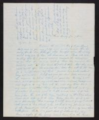 Letter from Jane Scudder to Charles Scudder (father), 1845 January 09