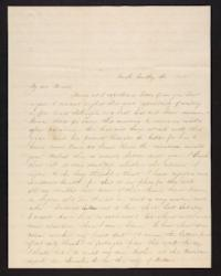 Letter from Jane Scudder to Charles Scudder (father), 1845 April 23