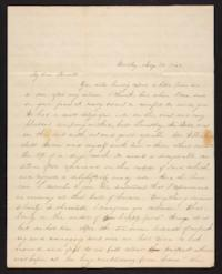 Letter from Jane Scudder to Charles Scudder (father), 1845 May 28