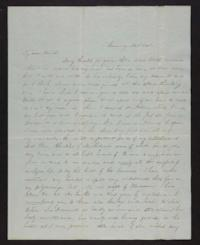 Letter from Jane Scudder to her parents, 1845 November 05