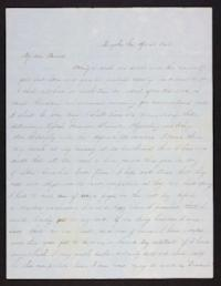 Letter from Jane Scudder to her parents, 1846 April 23