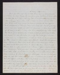 Letter from Jane Scudder to her parents, 1846 July 08