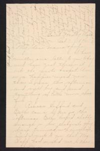 Letter from Amy Roberts Jones to  Augustus H. Roberts and Mary A. Roberts, 1896 October 7