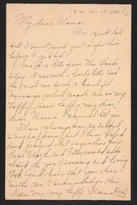 Letter from Amy Roberts Jones to  Mary A. Roberts, 1896 December 18