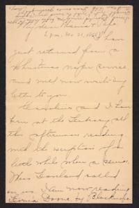 Letter from Amy Roberts Jones to  Augustus H. Roberts and Mary A. Roberts, 1896 December 21