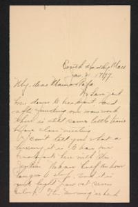 Letter from Amy Roberts Jones to Mary A. Roberts, 1897 January 31