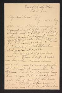 Letter from Amy Roberts Jones to Augustus H. Roberts and Mary A. Roberts, 1897 February 14