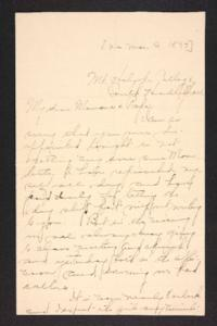 Letter from Amy Roberts Jones to Augustus H. Roberts and Mary A. Roberts, 1897 March 9