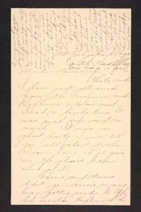 Letter from Amy Roberts Jones to Augustus H. Roberts and Mary A. Roberts, 1897 March 17