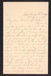 Letter from Amy Roberts Jones to Augustus H. Roberts and Mary A. Roberts, 1897 May 16