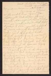 Letter from Amy Roberts Jones to Augustus H. Roberts and Mary A. Roberts, 1897 June 14