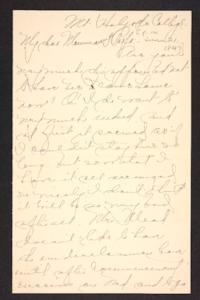Letter from Amy Roberts Jones to Augustus H. Roberts and Mary A. Roberts, 1897 June 21