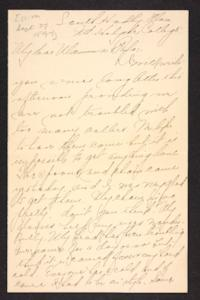 Letter from Amy Roberts Jones to Augustus H. Roberts and Mary A. Roberts, 1897 September 27