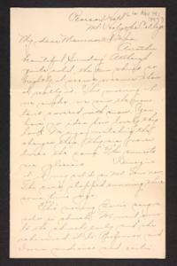 Letter from Amy Roberts Jones to Augustus H. Roberts and Mary A. Roberts, 1897 November 14