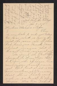 Letter from Amy Roberts Jones to Augustus H. Roberts and Mary A. Roberts, 1898 January 9