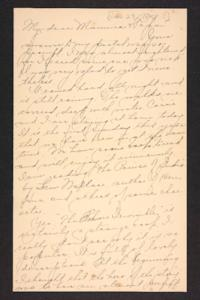 Letter from Amy Roberts Jones to Augustus H. Roberts and Mary A. Roberts, 1898 January 23