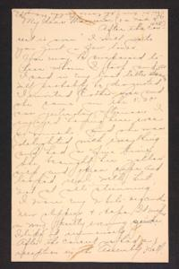 Letter from Amy Roberts Jones to Mary A. Roberts, 1898 March 9