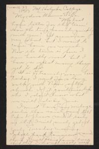 Letter from Amy Roberts Jones to Augustus H. Roberts and Mary A. Roberts, 1898 March 27