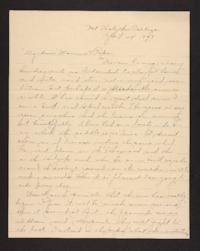 Letter from Amy Roberts Jones to Augustus H. Roberts and Mary A. Roberts,1898 April 24