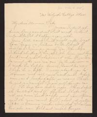 Letter from Amy Roberts Jones to Augustus H. Roberts and Mary A. Roberts, 1898 May 4