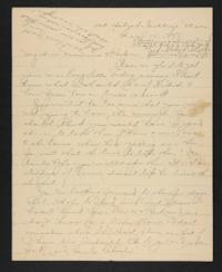 Letter from Amy Roberts Jones to Augustus H. Roberts and Mary A. Roberts, 1898 May 15