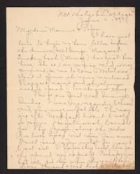 Letter from Amy Roberts Jones to Augustus H. Roberts and Mary A. Roberts, 1898 June 5