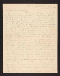 Letter from Amy Roberts Jones to Augustus H. Roberts and Mary A. Roberts, 1898 June 8