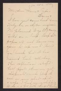 Letter from Amy Roberts Jones to Augustus H. Roberts and Mary A. Roberts, 1898 October 6