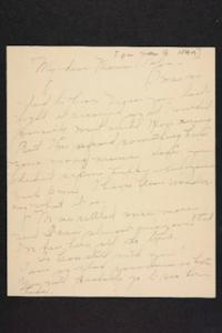 Letter from Amy Roberts Jones to Augustus H. Roberts and Mary A. Roberts, 1899 January 9