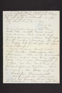 Letter from Amy Roberts Jones to Augustus H. Roberts and Mary A. Roberts, 1900 March 14