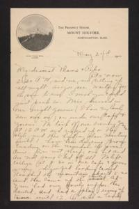 Letter from Amy Roberts Jones to Augustus H. Roberts and Mary A. Roberts, 1900 May 23
