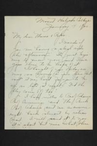 Letter from Amy Roberts Jones to Augustus H. Roberts and Mary A. Roberts, 1900 June 3