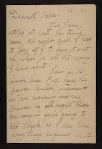 Letter from Florence Polk Holding to William Polk, 1896 October 7
