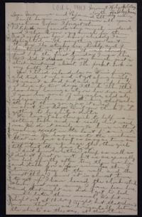 Letter from Edna L. Ferry to Charles A. Ferry and Rosella E. Ferry, 1901 October 6